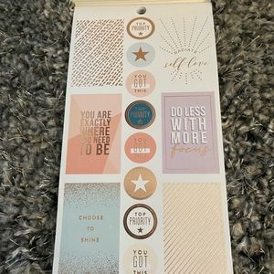The Happy Planner Other - New Happy Planner Wellness Sticker Book
